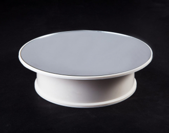 Вращающийся стенд для модели с зеркальной подставкой D20 см