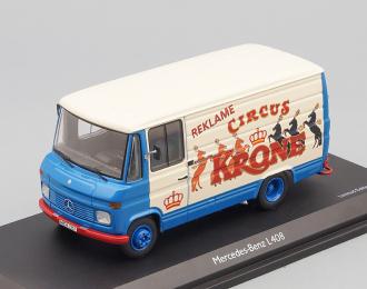 MERCEDES-BENZ L408 Circus Krone (1968), blue / beige