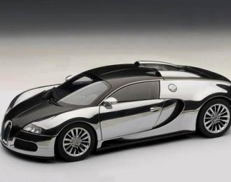 BUGATTI EB Veyron 16.4 Pur Sang, black aluminium casting