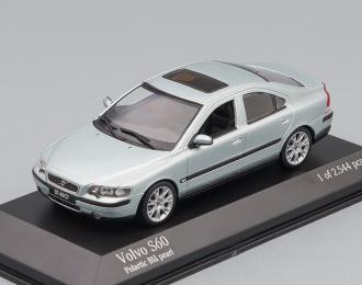 VOLVO S 60 2000, iceblue metallic