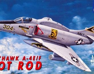 Сборная модель Американский легкий палубный штурмовик  Douglas A-4E / F Skyhawk (Hot Rod)