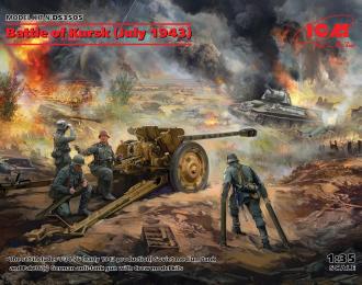 Сборная модель Курская битва (июль 1943 г.)