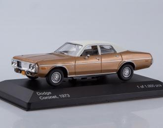 DODGE Coronet (1973), metallic brown / creme