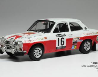 FORD Escort MK1 RS1600 #16 T.Makinen - H.Liddon RAC Rally 1971