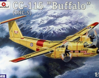 Сборная модель Канадский самолет de Havilland Canada Cc-115 Buffalo