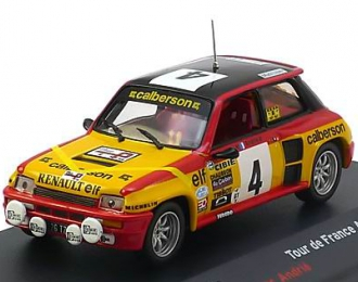 RENAULT 5 Turbo 4 Tour de France (Jean Ragnotti - Andrie) 1980, yellow