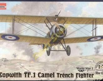 Сборная модель Британский истребитель Sopwith TF.1 CAMEL