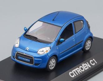 CITROEN C1 (рестайлинг) 2009, Electra blue