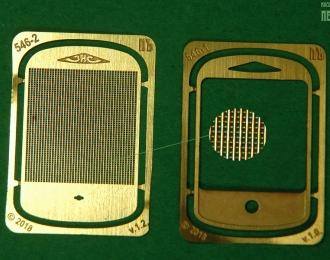 Облицовка радиатора сквозная для ЗиС НАП