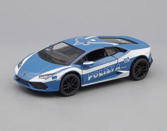 LAMBORGHINI Huracan LP610-4 Police, blue / white