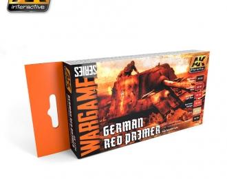 Набор акриловых красок GERMAN RED PRIMER SET (6 красок) (наборнемецких красных грунтовок)
