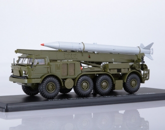 ЛУНА-М 95113 с ракетой 9M21 на шасси ЗИЛ-135ЛМ, хаки