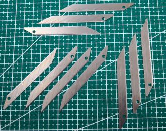 Лезвие ножа №5 для графических работ 10 шт