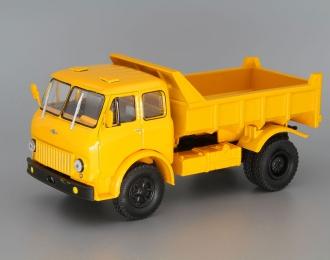 МАЗ 503Б самосвал, желтый