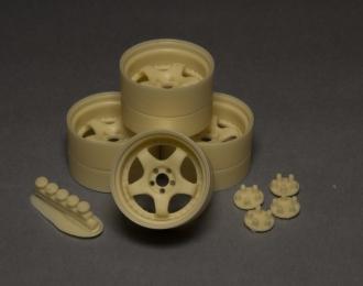 Комплект дисков MEISTER S1 3PIECE (глубокая полка) 18 дюймов