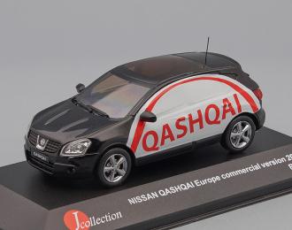 NISSAN Qashqai Europe Advertisement Commercial Version (2007), black