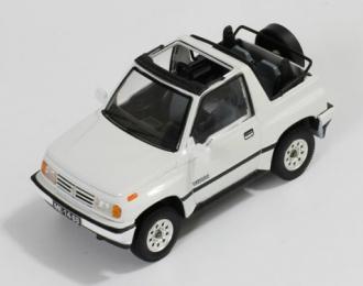 SUZUKI Vitara 1.6 JLX 4x4 Convertible (1992), white
