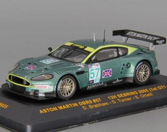 ASTON MARTIN DBR9 №57 12h Sebring (1st GT1 classe) (D.Brabham - S.Ortelli - D.Turner), green