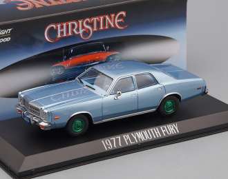 "PLYMOUTH Fury 1977 Blue (машина детектива Рудольфа Дженкинса из к/ф ""Кристина"" 1983) (Greenlight!)"