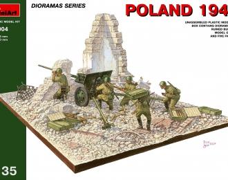 Сборная модель Наборы для диорам  POLAND 1944