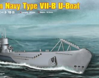 Сборная модель Подводная лодка German Navy Type VII-B U-Boat