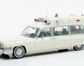 "CADILLAC Superior 51+ ""Ambulance"" (скорая помощь) 1970 White"