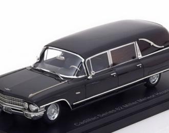 CADILLAC Series 62 Miller Meteor Hearse (катафалк) 1962 Black