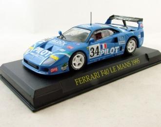 FERRARI F40 Le Mans (1995), Ferrari Collection 62, blue