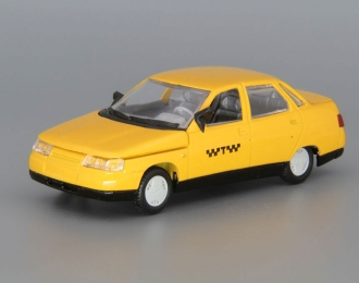 ВАЗ 2110 Такси, желтый