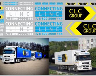 Набор декалей Транспортная компания LCL GROUP (100х290)