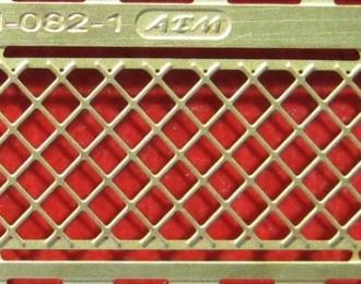 Фототравление Решетка заднего окна ZIS-150, ZIS-151, ZIL-164 (вариант 1)