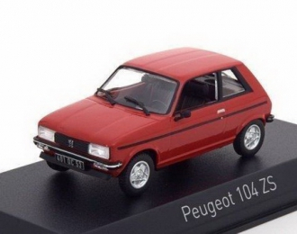 PEUGEOT 104 ZS 1979 Persan Red