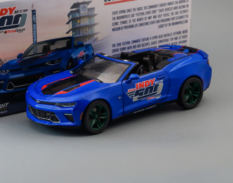 CHEVROLET Camaro SS Convertible 102 Running Indy 500 Presented 2017 Blue (Greenlight!)