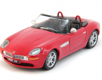 BMW Z8 Roadster Open Top, red