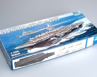 Сборная модель Американский авианосец USS CVN-68 Nimiz (2005г.)