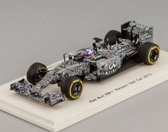 Red Bull RB11 Renault Test Car Infiniti Red Bull Racing Daniel Ricciardo (2015), black / white