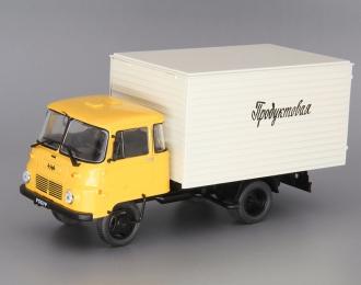 ROBUR LD 3001 фургон, Автомобиль на службе 72, orange / beige