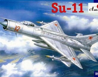 Сборная модель Советский истребитель-перехватчик Су-11