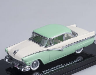 FORD Fairlane (1956), meadow mist green / colonian white