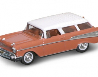 CHEVROLET Nomad (1957), brown