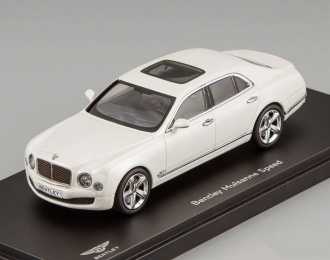 BENTLEY Mulsanne Speed, ghost white