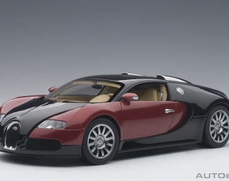 BUGATTI EB 16.4 Veyron production car #001, black / red