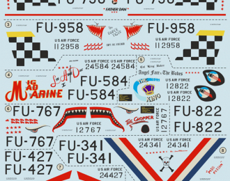 F-86E Sabre  Wet decal