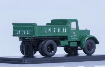 ЯАЗ 205 самосвал, зеленый