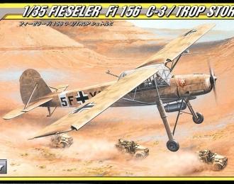 Сборная модель Самолет-разведчик Fieseler Fi 156C-3/trop Storch