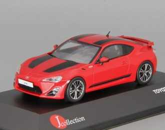 TOYOTA GT86 1-st Edition LHD (2012), red / black