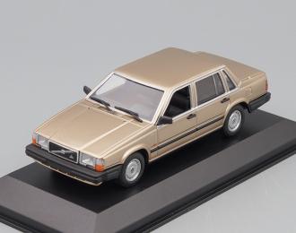 VOLVO 740 GL - 1986 - GOLD METALLIC