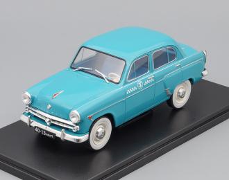 МОСКВИЧ 407 Такси, Легендарные Советские Автомобили 68, голубой
