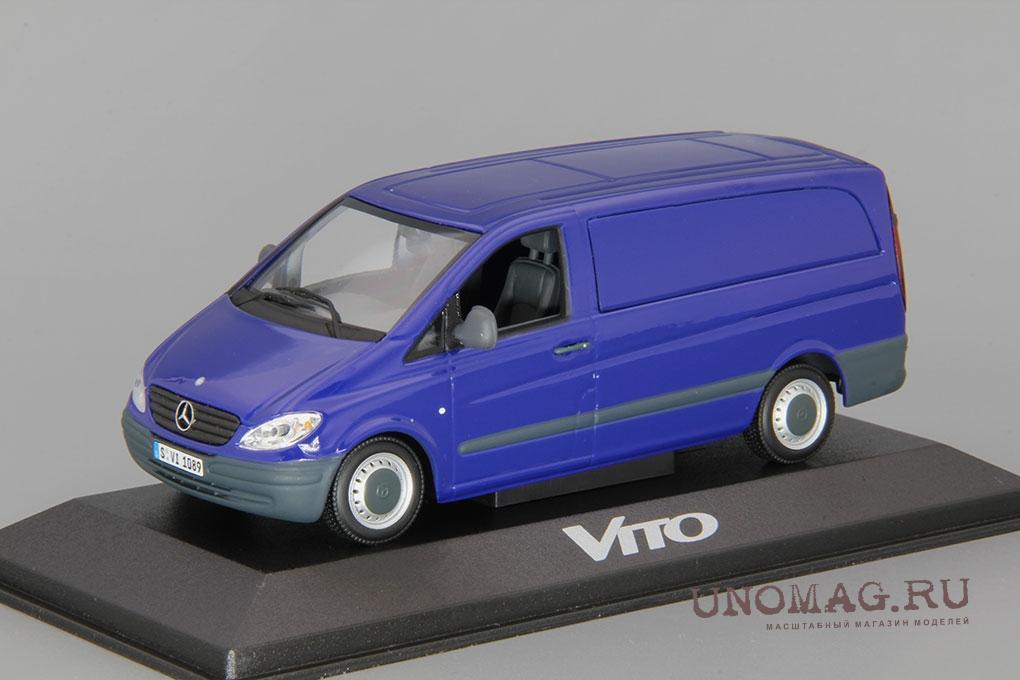 MERCEDES-BENZ Vito фургон (2003), blue