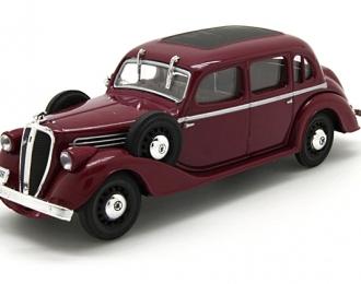 SKODA Superb (1938), Legendarne Samochody 60, бордовый